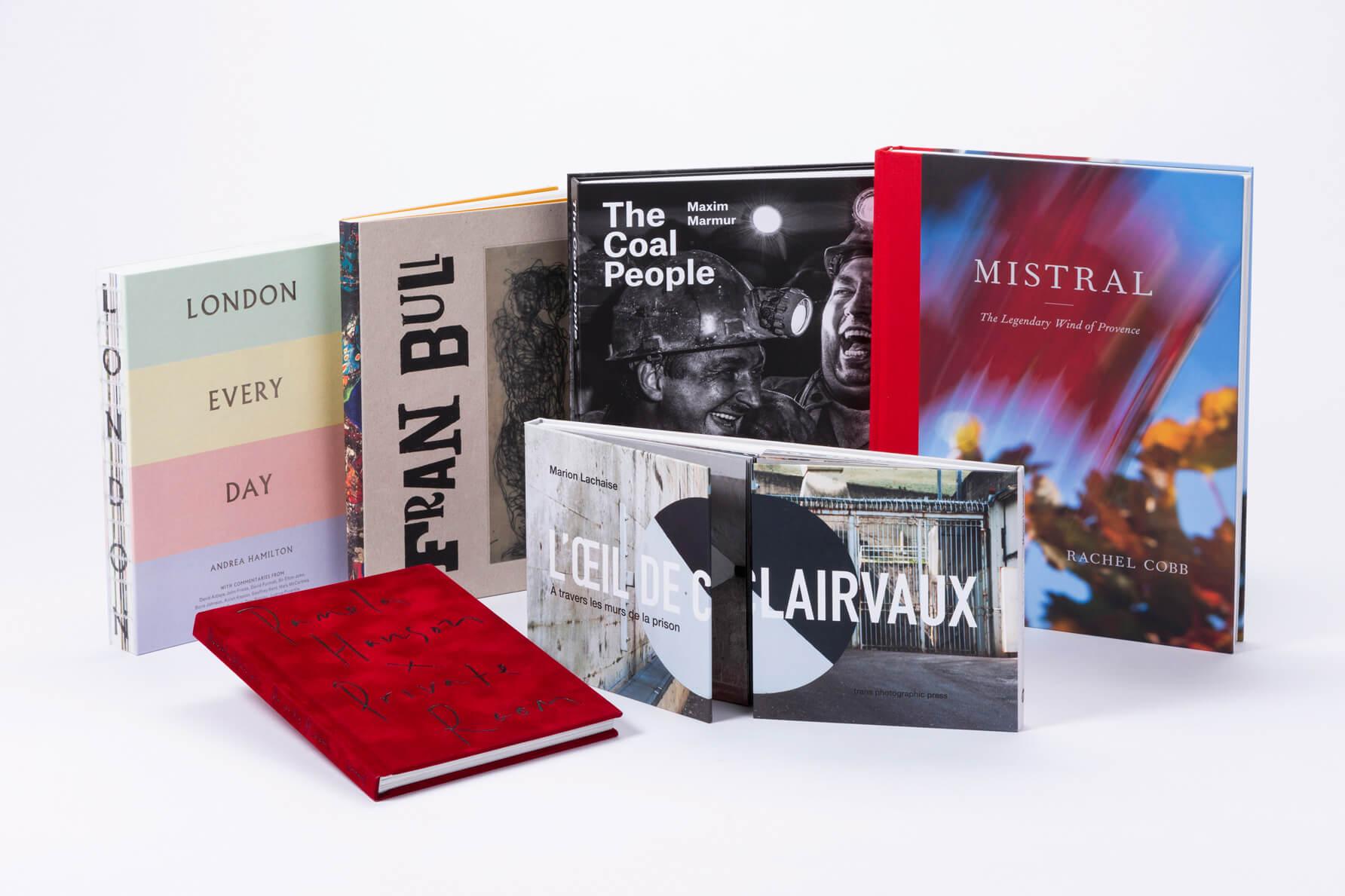 Esempi di Coffee table book realizzati da Faenza Group
