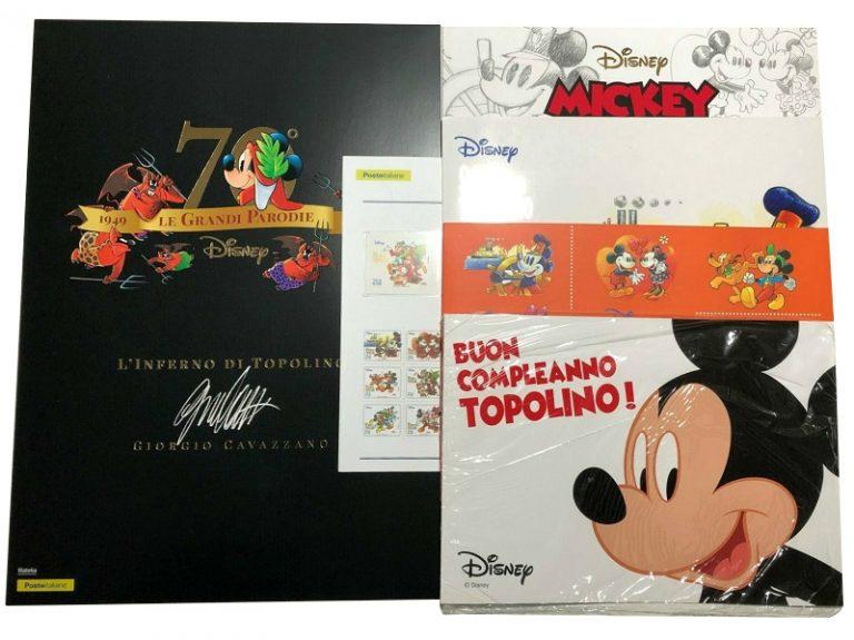 Folder-Faenza-group-cavazzano-inferno-topolino-Disney-Poste-Italiane