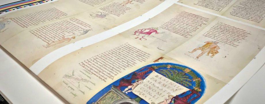 Stampa manoscritti in fac simile