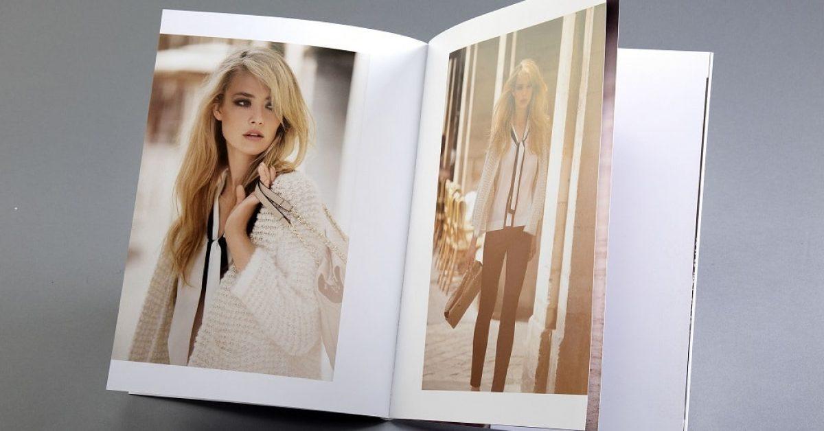 Guida per stampare una rivista di moda