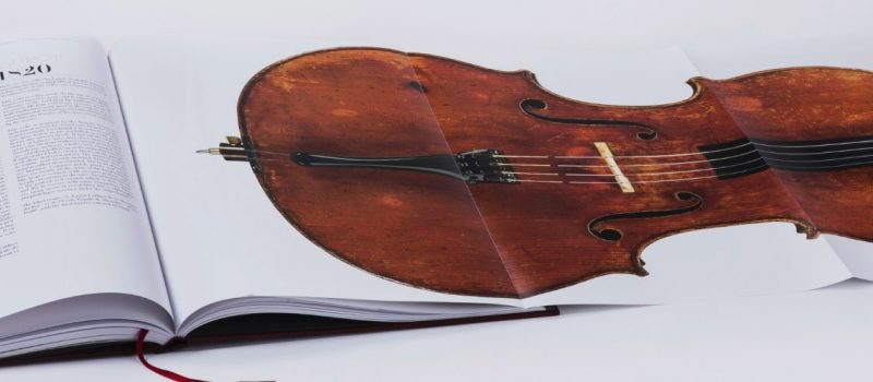 Coffee table book per l'eccellenza degli Stradivari