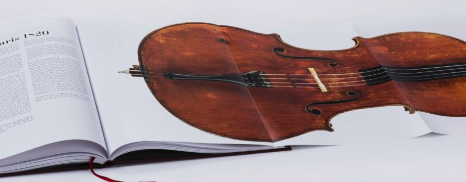 Coffee table book per l'eccellenza degli Stradivari