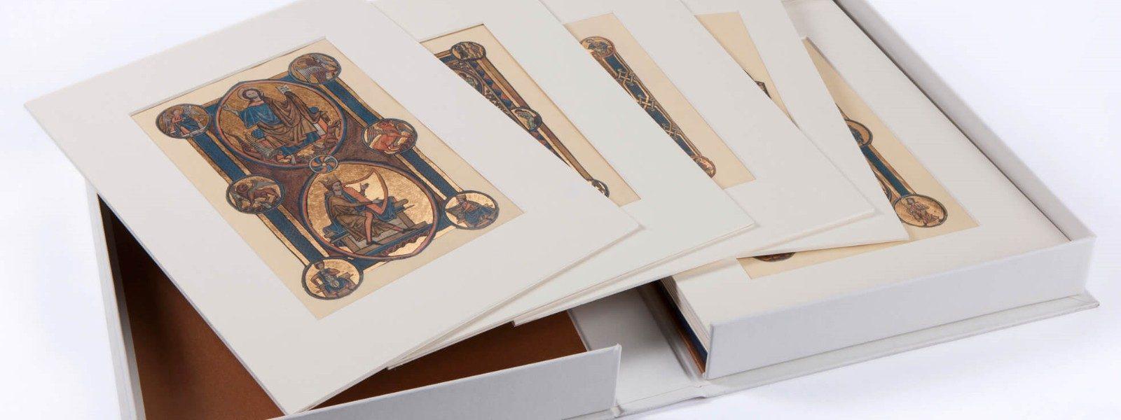 Manoscritti in fac simile per la celebrazione di opere antiche