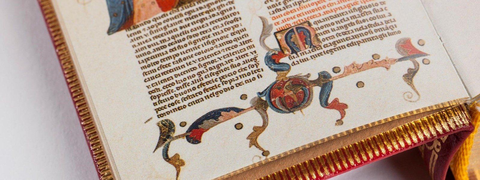 Esempi di stampa manoscritti in fac simile realizzati da Faenza Group