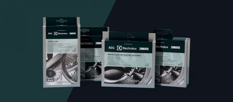 Packaging design di Electrolux realizzato da Faenza Group
