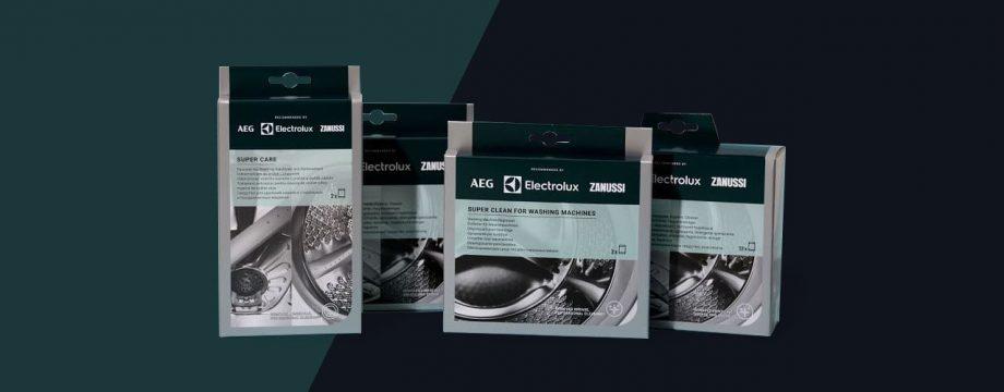Packaging design di Electrolux realizzato da Faenza Group