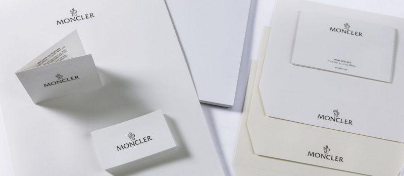 moncler intestazione