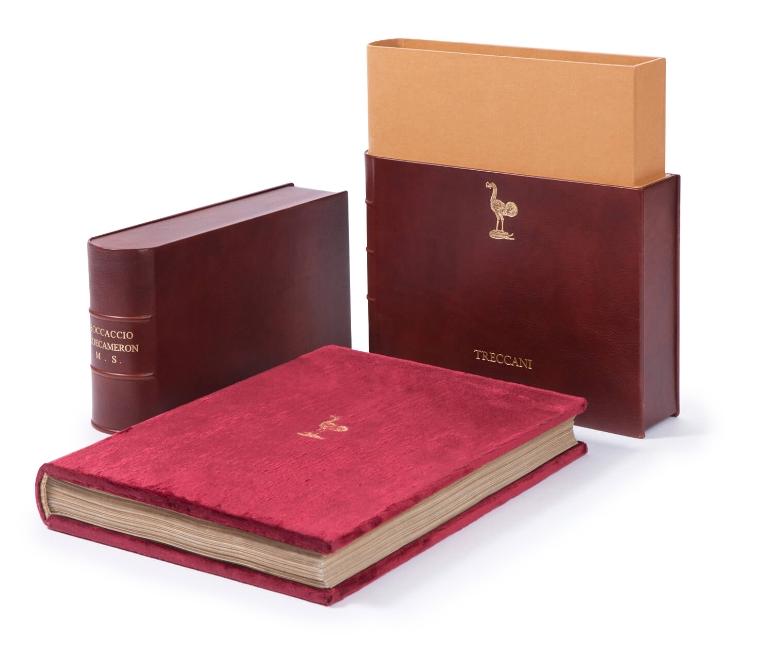 Esempi di servizi editoriali esclusivi e servizi di publishing realizzati da Faenza Group per l'enciclopedia Treccani